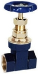 Zoloto 1035, 32 Mm Bronze Gate Valve