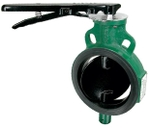 Zoloto 100 Mm PN16 Pressure Class Wafer Type Butterfly Valve - 1078