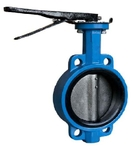 Zoloto 65 Mm Cast Iron Butterfly Valve