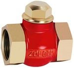 Zoloto 25 Mm Bronze Horizontal Check Valve
