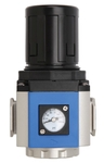 LEGRIS (Port Size 1/4 Inch Flow Rate 1546 Nl/min) Regulator Mini With Gauge 6701 02 13