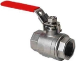 SHENCO 200mm Cast Iron Ball Valve (Single Piece)