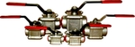 SHENCO (40mm) Complete Ball Valve (Three Piece)