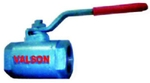 Valson Single Piece Ball Valve (Size- 2.5 Inch Screwed Cast Iron)