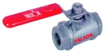 Valson Single Piece Ball Valve (Size- 1/2 Inch Screwed Extra Heavy Cast Iron)
