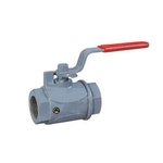 Valson Single Piece Ball Valve (Size- 2.5 Inch Screwed Stainless Steel)