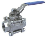Valson Three Piece Ball Valve (Size- 3/4 Inch Screwed)
