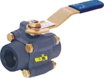 Valson Three Piece Ball Valve (Size- 1/2 Inch Screwed/Socketweld End 800)