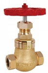 Zoloto 50 Mm Globe Steam Bronze Screwed Stop Valve 1041