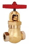 Zoloto 32 Mm Straight Pattern Screwed Auxiliary Steam Stop Valve 1061