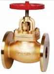 Zoloto 25 Mm Straight Pattern Flanged Auxiliary Steam Stop Valve 1062