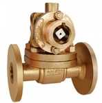 Zoloto 25 Mm Parallel Slide Bronze Flanged Blow Off Valve 1052