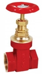 Zoloto 65 Mm Bronze Screwed Gate Valve 1035 A