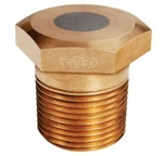 Zoloto 25 Mm One Piece Design Bronze Fusible Plug 1063