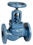 Zoloto 32 Mm Flanged Straight Pattern Cast Iron Globe Steam Stop Valve