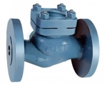 Zoloto 80 Mm FS Pattern Cast Iron Horizontal Lift Check Valve