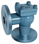 Zoloto 65 Mm FA Pattern Cast Iron Horizontal Lift Check Valve
