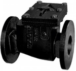 Zoloto 65 Mm Flanged Cast Iron Non- Return Valve 1083