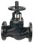Zoloto 100 Mm Flanged Cast Iron Balancing Valve With Nozzle 1087 A