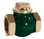 Zoloto 32 Mm Bronze Screwed Check Valve No 5 1011