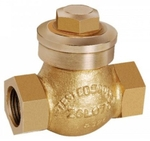 Zoloto 65 Mm Bronze Screwed Check Valve No 9 1013