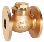 Zoloto 80 Mm Bronze Flanged Check Valve No 9 1014