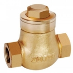 Zoloto 32 Mm Bronze Screwed Check Valve 1043