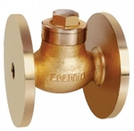 Zoloto 15 Mm Bronze Flanged Check Valve 1044