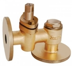 Zoloto 25 Mm Bronze Flanged Check Valve 1051