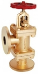Zoloto 50 Mm Bronze Flanged Accessible Feed Check Valve 1057