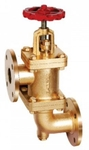 Zoloto 25 Mm Bronze Flanged Accessible Feed Check Valve 1058