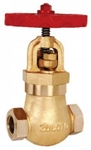 Zoloto 40 Mm Bronze Screwed Controllable Feed Check Valve 1059
