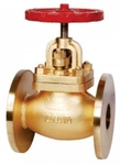 Zoloto 25 Mm Bronze Flanged Controllable Feed Check Valve 1060