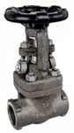 Zoloto 25 Mm Forged Steel Standard Bore Gate Valve A 105