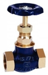 Zoloto 65 Mm Screwed Bronze Globe Valve 1001