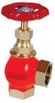 Zoloto 32 Mm Screwed Bronze Angle Globe Valve No: 4 1001 A