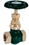 Zoloto 65 Mm Screwed Bronze Globe Valve No: 5 1002