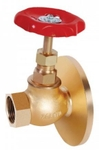 Zoloto 25 Mm One Side Flanged Bronze Transformer Globe Valve 1004