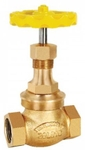 Zoloto 65 Mm Screwed Bronze Union Bonnet Globe Valve 1031