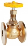 Zoloto 25 Mm Flanged Bronze Union Bonnet Globe Valve 1032