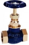 Zoloto 65 Mm Screwed Bronze Globe Valve 1033