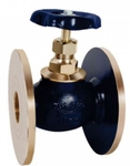 Zoloto 15 Mm Flanged Bronze Globe Valve 1034