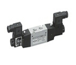 Aerotac 1/4 Inch 5/2 Way Double Solenoid Valve