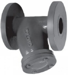 Zoloto 350 Mm Flanged Cast Iron Strainer Y Type 1084