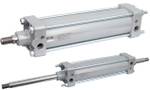 Airmax VNC Bore Size 100 Mm Stroke 100 Mm Pneumatic Cylinder