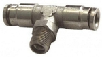 Techno MPT Size M 4-01 Metal Push In Fittings