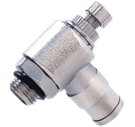 Techno MNSE Size M 6-01 Metal Push In Fittings