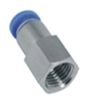 Aerotac 6 Mm Straight Connector With Female Thread PCF-M1