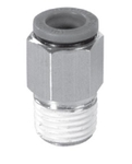 Janatics 1/2 Inch Straight Connector With Male Thread 10 Mm