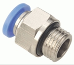 UNITEK 1/4 Inch Straight Connector With Male Thread 12 Mm 12-02(1/4)